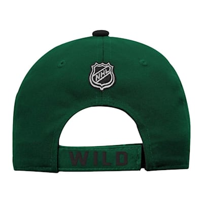 Back (Adidas Minnesota Wild Basic Youth Hat)
