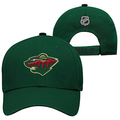 Minnesota Wild (Adidas Minnesota Wild Basic Youth Hat)