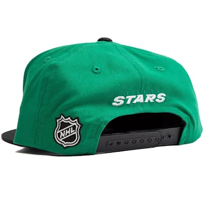 (Adidas Dallas Stars Two Tone Youth Flat Brim Snapback Cap)