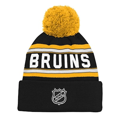 Back (Adidas Boston Bruins Youth Pom Knit Hat)