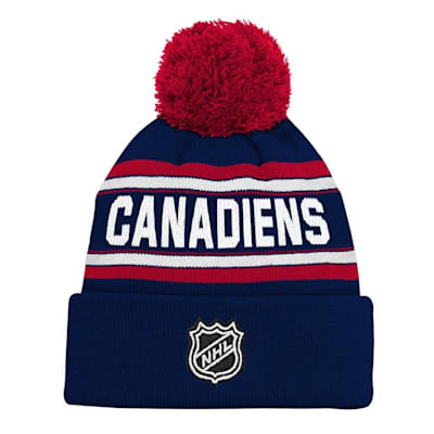 Back (Adidas Montreal Canadiens Youth Pom Knit Hat)