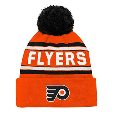 Front (Adidas Philadelphia Flyers Youth Pom Knit Hat)