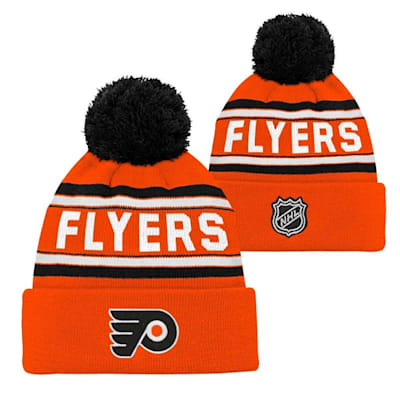 Philadelphia Flyers (Adidas Philadelphia Flyers Youth Pom Knit Hat)