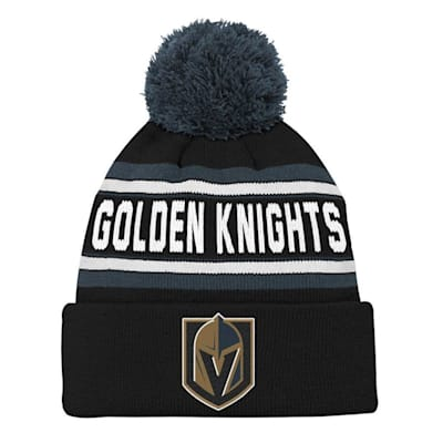 Front (Adidas Vegas Golden Knights Youth Pom Knit Hat)
