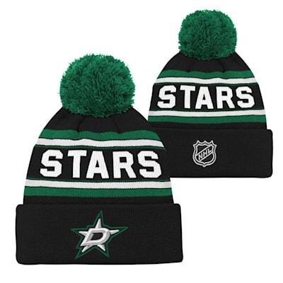 Dallas Stars (Adidas Dallas Stars Youth Pom Knit Hat)