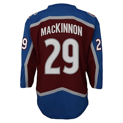 Back (Adidas Colorado Avalanche Mackinnon Jersey - Youth)