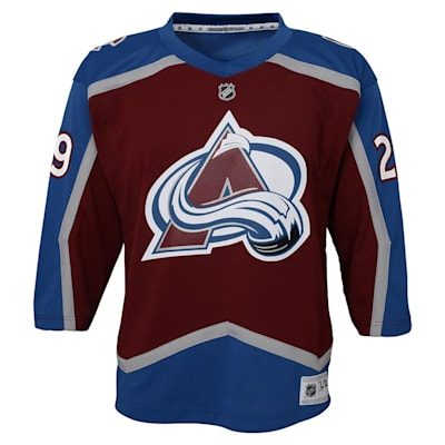 Front (Adidas Colorado Avalanche Mackinnon Jersey - Youth)