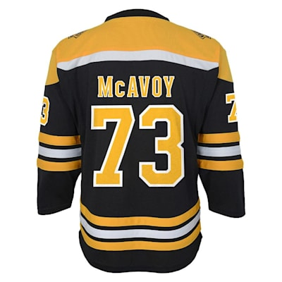Back (Adidas Boston Bruins McAvoy Jersey - Youth)