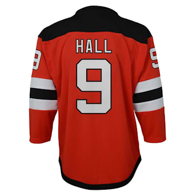 Back (Adidas New Jersey Devils Hall Jersey - Youth)