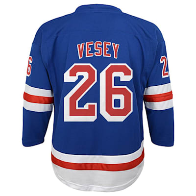 Back (Adidas New York Rangers Vesey Jersey - Youth)