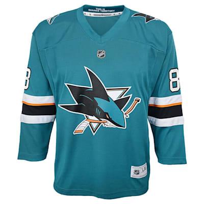 Front (Adidas San Jose Sharks Burns Jersey - Youth)