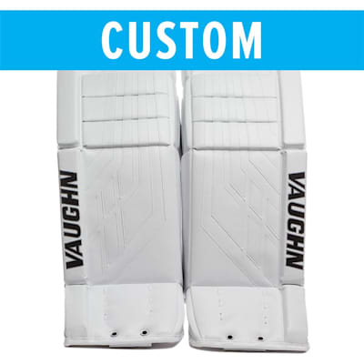 (Vaughn Custom Velocity VE8 Pro Carbon Goalie Leg Pads - Senior)