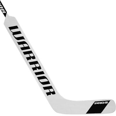 White/Black (Warrior Swagger Pro 2 Foam Core Goalie Stick - Intermediate)