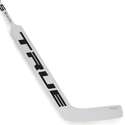 White (TRUE A4.5 HT Composite Goalie Stick - Intermediate)