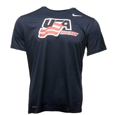 (Nike USA Hockey Legends Short Sleeve Tee - Youth)