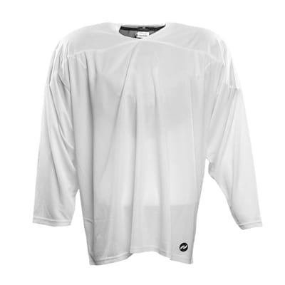White (Pure Hockey One Tone Practice Jersey - Senior)