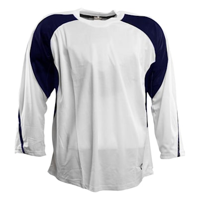 White/Navy (Pure™ Hockey Two Tone Practice Jersey - Senior)