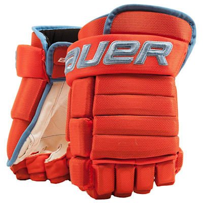 Little Caesars (Bauer 4-Roll Team Pro Hockey Gloves - Junior)