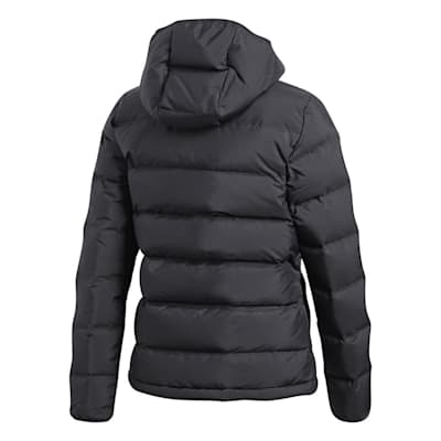 Back (Adidas Outdoor Helionic Hooded Jacket - Black - Mens)