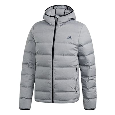 7bb073541bc7 (Adidas Outdoor Helionic Hooded Jacket - Grey - Mens)