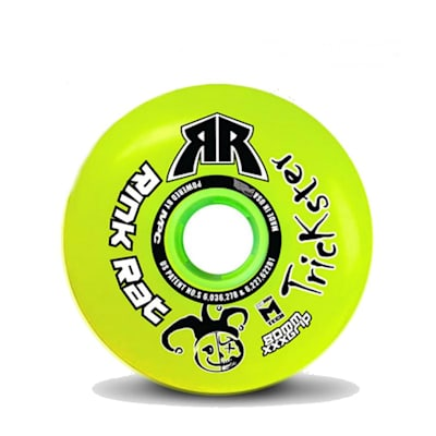 (Rink Rat Trickster XXX Grip Inline Hockey Wheel)