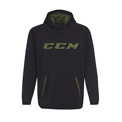 Black (CCM Grit Tech Pullover Hoody - Youth)