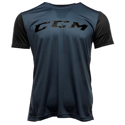 Blue (CCM Grit Tech Top Exclusive Shirt - Youth)