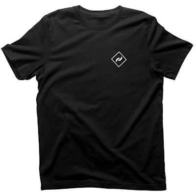 Front (Pure Hockey Authentic Tee - Black - Adult)