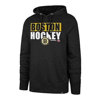 (47 Brand Blockout Headline Hoody - Boston Bruins - Mens)