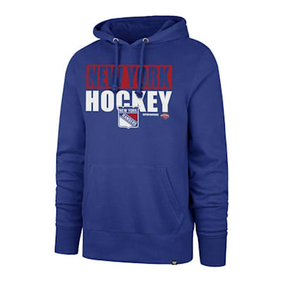 (47 Brand Blockout Headline Hoody - New York Rangers - Mens)