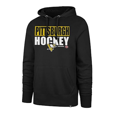 (47 Brand Blockout Headline Hoody - Pittsburgh Penguins - Adult)