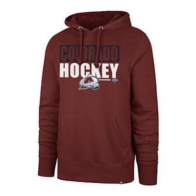 (47 Brand Blockout Headline Hoody - Colorado Avalanche - Mens)