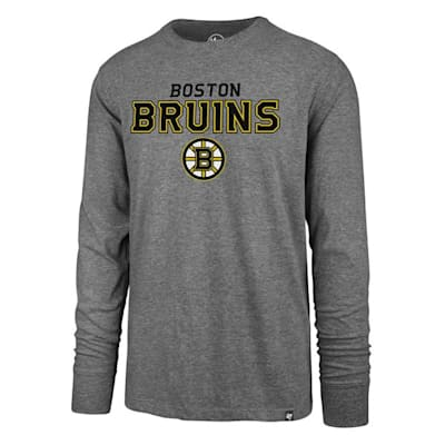(47 Brand Pregame Super Rival Long Sleeve Tee - Boston Bruins - Mens)