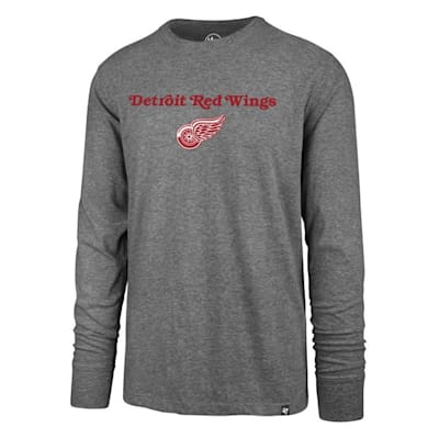 (47 Brand Pregame Super Rival Long Sleeve Tee - Detroit Red Wings - Mens)
