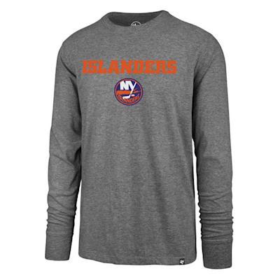 (47 Brand Pregame Super Rival Long Sleeve Tee - New York Islanders - Mens)