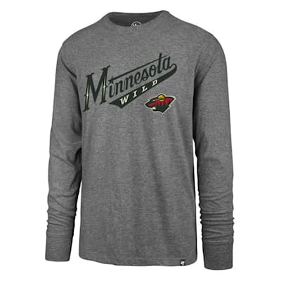 (47 Brand Pregame Super Rival Long Sleeve Tee - Minnesota Wild - Mens)