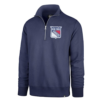(47 Brand Stateside 1/4 Zip Pullover - New York Rangers - Mens)