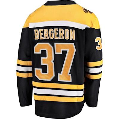 Back (Fanatics Boston Bruins Replica Home Jersey - Patrice Bergeron - Adult)