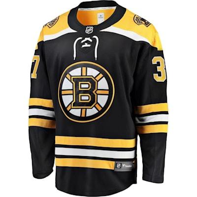 Front (Fanatics Boston Bruins Replica Home Jersey - Patrice Bergeron - Adult)