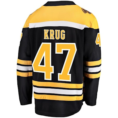 Back (Fanatics Boston Bruins Replica Jersey - Torey Krug - Adult)