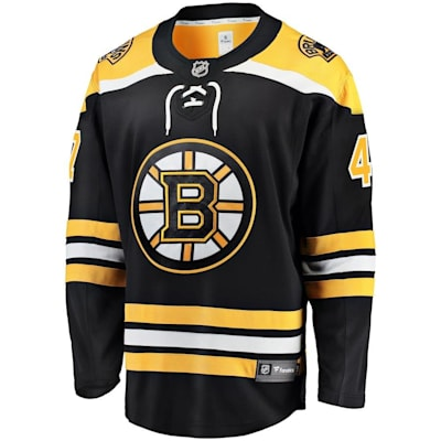 Front (Fanatics Boston Bruins Replica Jersey - Torey Krug - Adult)