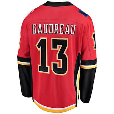 Back (Fanatics Calgary Flames Replica Jersey - Johnny Gaudreau - Adult)