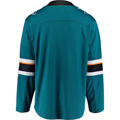 Back (Fanatics San Jose Sharks Replica Home Jersey - Adult)