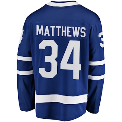 Back (Fanatics Toronto Maple Leafs Replica Home Jersey - Auston Matthews - Adult)