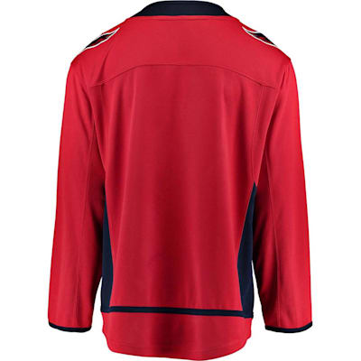 Back (Fanatics Washington Capitals Replica Home Jersey - Adult)