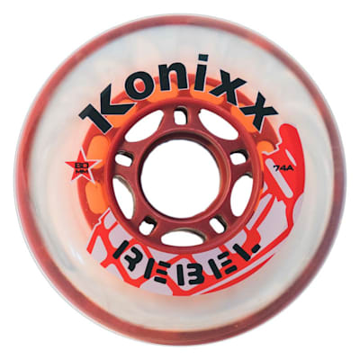 (Konixx Rebel Inline Wheel 74A)