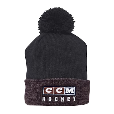 (CCM Classic Pom Knit Hat - Adult)
