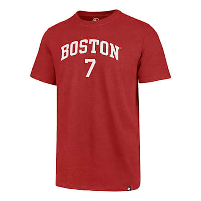 Front (47 Brand Boston University Charlie McAvoy Tee - Adult)