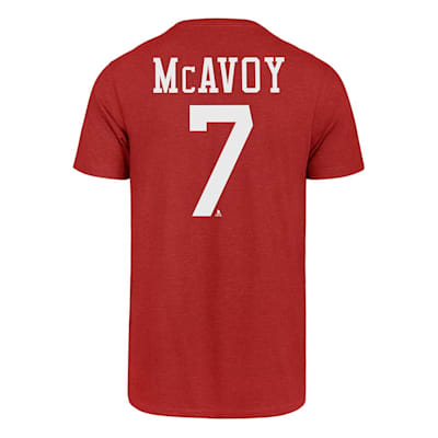 Back (47 Brand Boston University Charlie McAvoy Tee - Mens)