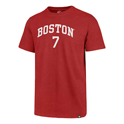 Front (47 Brand Boston University Charlie McAvoy Tee - Mens)